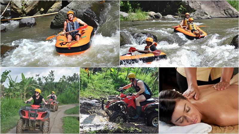 Ayung tubing + ATV ride