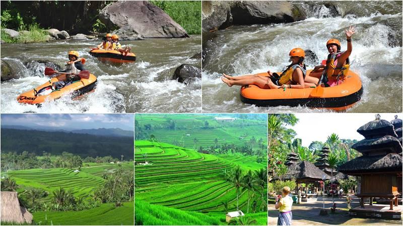 Ayung River Tubing + Natural Beauty Tour 1