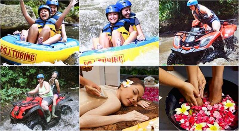 Pakerisan River Tubing + ATV Ride + Spa Tour 7
