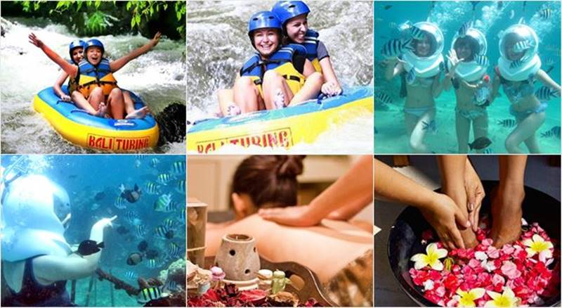 Pakerisan River Tubing + Ocean Walker + Ubud Tour 5