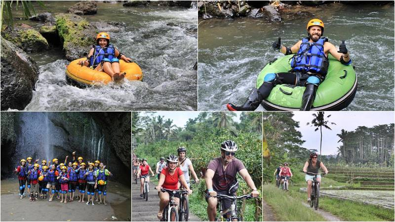 Penet River Tubing + Sangeh Cycling Tour 1