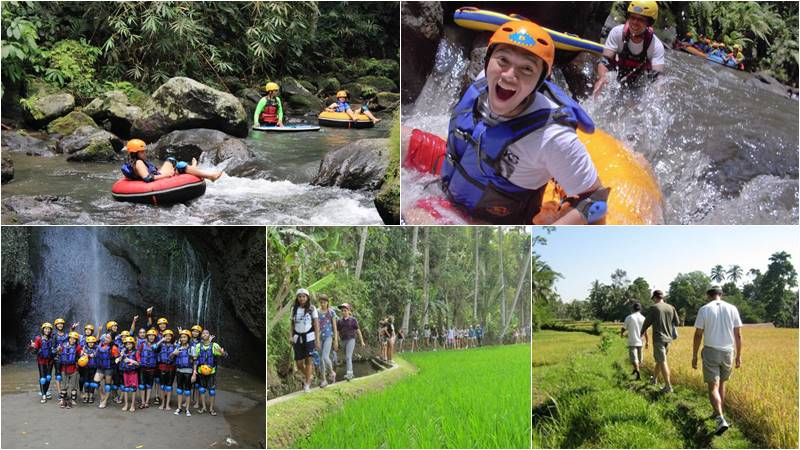 Penet River Tubing + Rice Fields Trekking 1